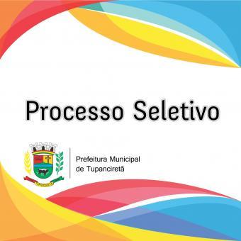 Homologação das Inscrições do Processo Seletivo