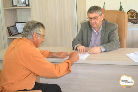Executivo Municipal concede permissão de espaço público para o bairro Juliana