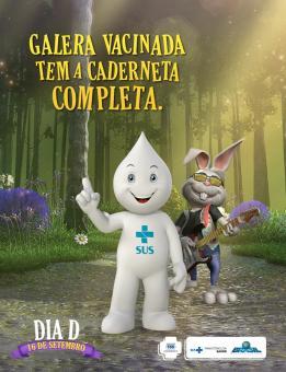 Inicia Campanha Nacional de Multivacinação