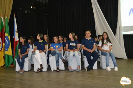 Reconhecimento aos alunos destaques do ano de 2017