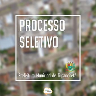 Administração Municipal faz processo seletivo para servente