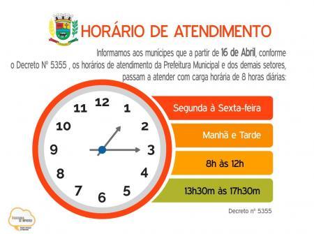 Prefeitura de Tupanciretã adotará horário de expediente de oito horas diárias