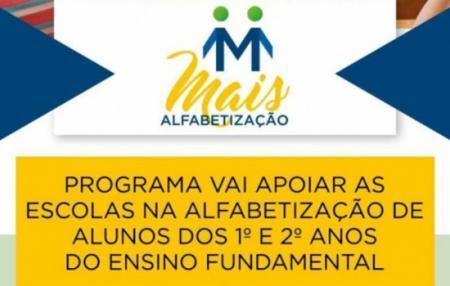 Escolas Municipais de Tupanciretã são contempladas com o Programa Mais Alfabetização
