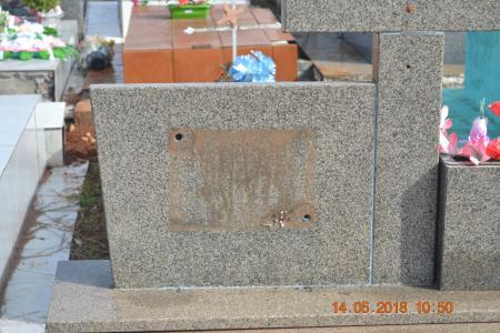 Cemitério Municipal é novamente saqueado