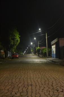 Lâmpadas LED são instaladas na General Osório
