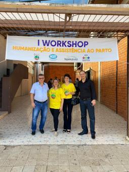 Workshop trata sobre Humanização e Assistência no Parto