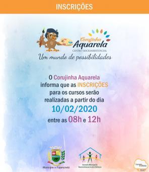 Corujinha Aquarela divulga data para inscrições