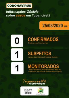 Primeiro caso suspeito de COVID 19 é atendido em Tupanciretã