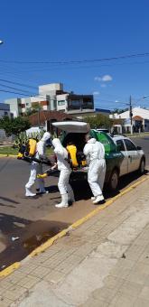 Processo de sanitização foi realizado como medida preventiva