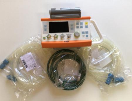 HCBT recebe o primeiro respirador