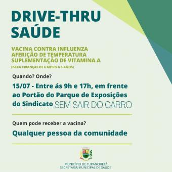 Drive-thru da Saúde