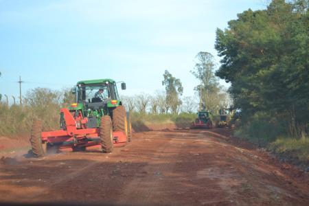 Patrolamento estrada Tupanciretã a Santa Tecla