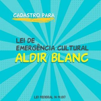 Inscrições de artistas locais para Lei Aldir Blanc iniciam dia 21 de outubro