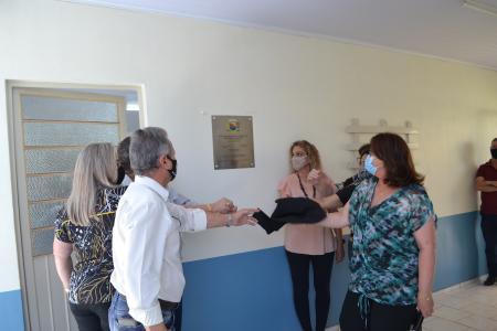 Inauguração da ampliação da EMEF Iva Chiapetta Cardoso