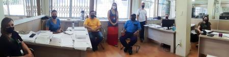 Fiscais do município se reuniram juntamente com a Defesa Civil e com a Guarda Municipal