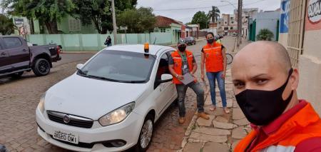 Defesa Civil segue ações de abordagem de prevenção