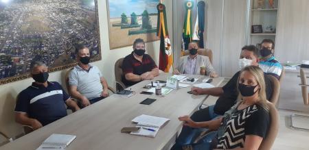 Executivo se reúne com Vereadores da Bancada Governista