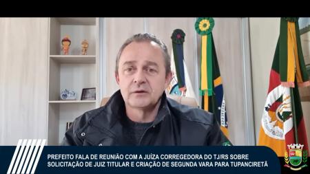 Dezembro é a previsão para que novo Juiz Titular assuma Comarca de Tupanciretã