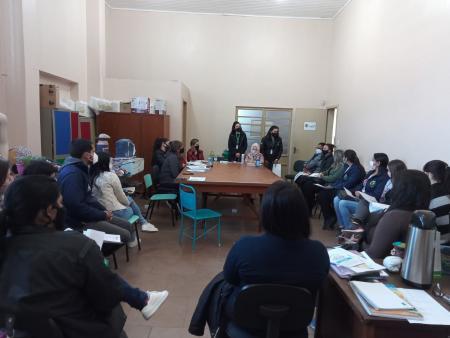Secretaria de Desenvolvimento Social e Habitação e Secretaria de Saúde promovem trabalho em rede