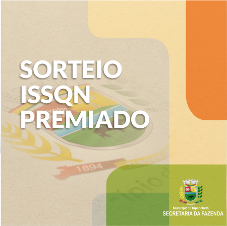 Ganhadores do ISSQN Premiado do mês de Outubro